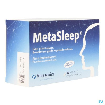 METASLEEP              PROMO COMP 60+15 METAGENICS