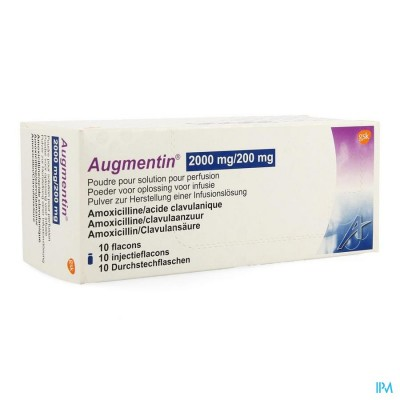 AUGMENTIN 2000MG/200MG PDR OPL        FL 10 X 25ML