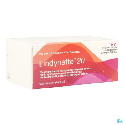 LINDYNETTE 20 COMP 13 X 21