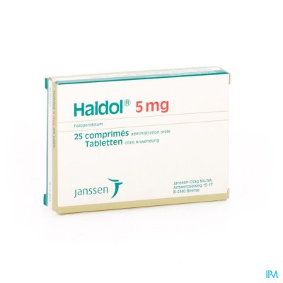 HALDOL COMP   25 X  5 MG