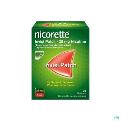 NICORETTE INVISI 25MG PATCH TRANSDERM. 28
