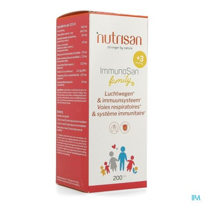 IMMUNOSAN FAMILY                    200ML NUTRISAN