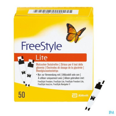 FREESTYLE LITE STRIPS    50 7081270