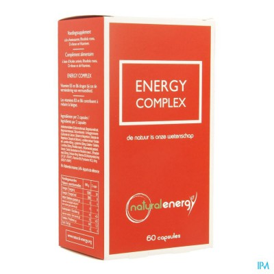 ENERGY COMPLEX NATURAL     CAPS  60