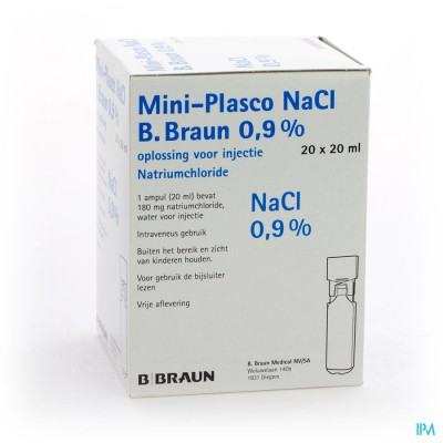 MINI PLASCO NACL 0,9 % AMP20X20ML