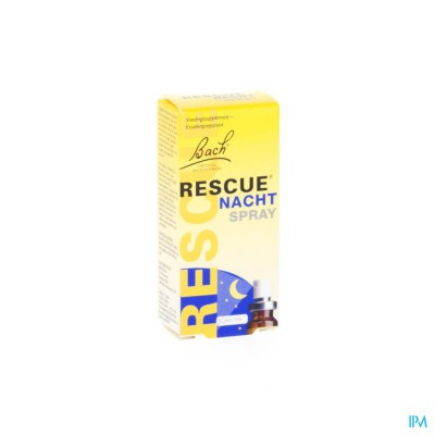 BACH RESCUE SPRAY NACHT   7ML
