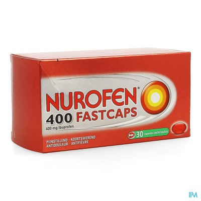 NUROFEN 400 FASTCAPS CAPS 30 X 400 MG