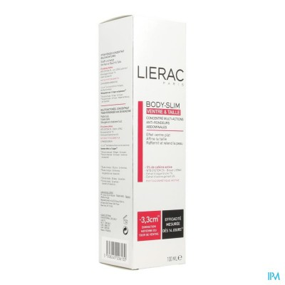 LIERAC BODY SLIM BUIK&TAILLE          POMPFL 100ML