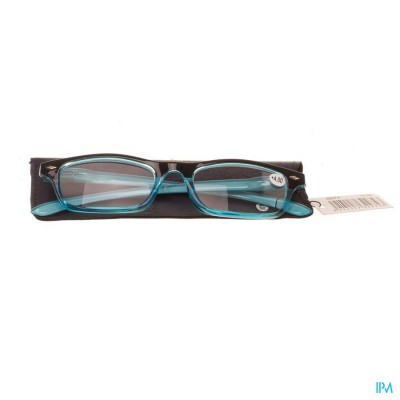 PHARMAGLASSES LEESBRIL DIOP.+4.00 BLUE