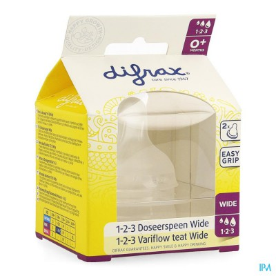 DIFRAX FLESSENSPEEN NATURAL WIDE 1-2-3         677