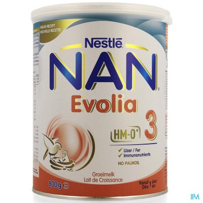 NAN OPTIPRO EVOLIA 3 NF        800G