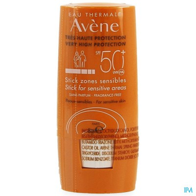 AVENE ZON IP50+ STICK GEVOELIGE ZONES          8ML