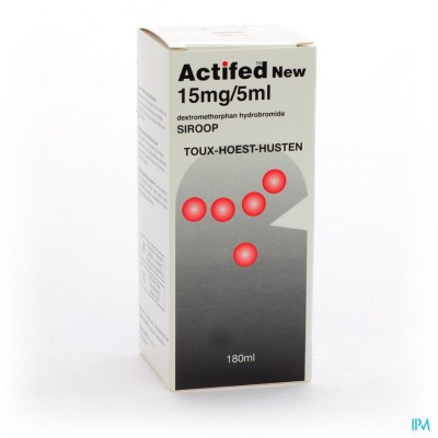 ACTIFED NEW SIR FL 180 ML