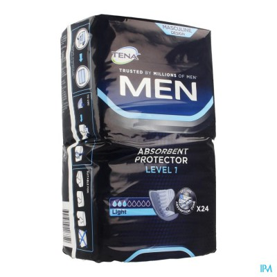 TENA MEN LEVEL 1  NF  24 750651
