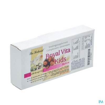 HERBORIST ROYAL VITA KIDS     AMP 20X3ML  0750