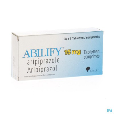 ABILIFY 15 MG COMP 28 X 15 MG