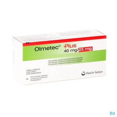 Olmetec Plus 40mg/25mg Comp Pell 98