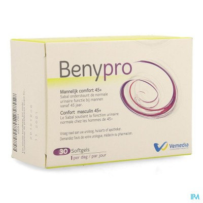 BENYPRO                  SOFTGEL 30