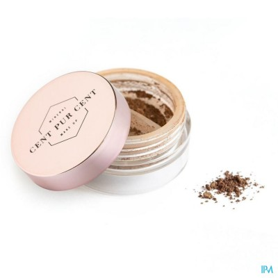 CENT PUR CENT LOSSE MINERALE SHADOW CARAMEL     2G