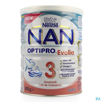 NAN OPTIPRO EVOLIA 3 MELKPDR   800G