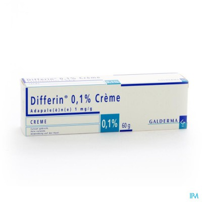 DIFFERIN 0,1 % CREME TUBE 60 G