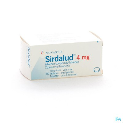 SIRDALUD COMP  100 X 4 MG