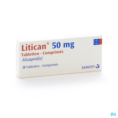 LITICAN 50 MG COMP 20 X 50 MG