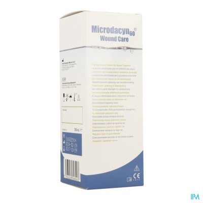 MICRODACYN 60 WOUND CARE SOLUTION   250ML 44107-00