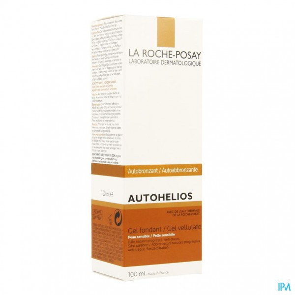 LRP AUTOHELIOS GEL CREME 100ML